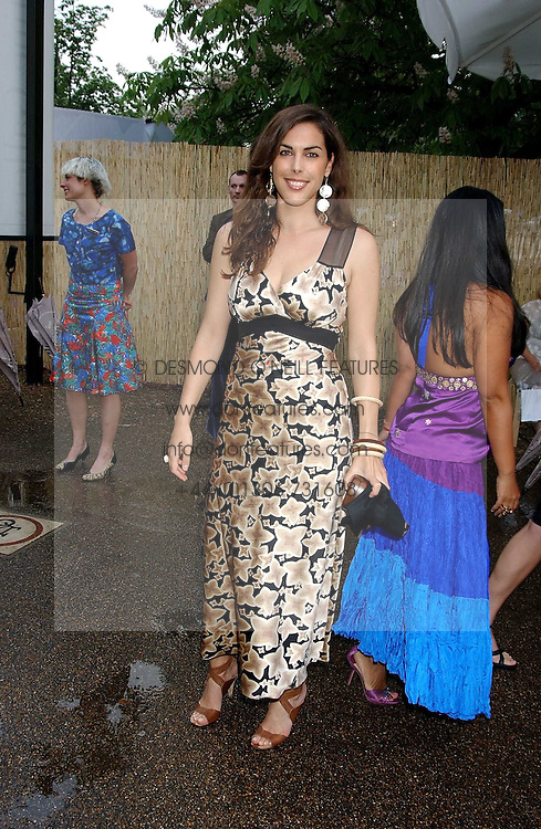 JESSICA DE ROTHSCHILD at the annual Serpentine Gallery Summer Party co-hosted by Jimmy Choo shoes held at the Serpentine Gallery, Kensington Gardens, London on 30th June 2005.<br /><br />NON EXCLUSIVE - WORLD RIGHTS