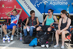Boels-Dolmans Cycling Team riders prepare for La Course High Speed Pursuit 2017 - a 22.5 km pursuit road race on July 22, 2017, in Marseille, France. (Photo by Balint Hamvas/Velofocus.com)
