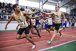 4x400 relay, WIlliam & Mary<br /> ECAC/IC4A Track and Field Indoor Championships