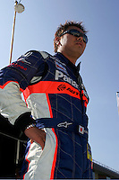 Kosuke Matsuura at the Michigan International Speedway, Firestone Indy 400, July 31, 2005