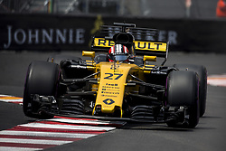 May 25, 2017 - Monaco, Monaco - 27 HULKENBERG Nico from Germany of Renault F1 RS17 team Renault Sport F1 team during the Monaco Grand Prix of the FIA Formula 1 championship, at Monaco on 25th of 2017. (Credit Image: © Xavier Bonilla/NurPhoto via ZUMA Press)
