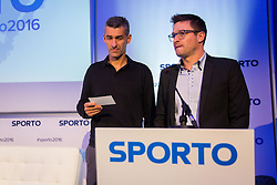 Marko Simeunovic and Sasa Jerkovic during Sports marketing and sponsorship conference Sporto 2016, on November 18, 2016 in Hotel Slovenija, Congress centre, Portoroz / Portorose, Slovenia. Photo by Vid Ponikvar / Sportida