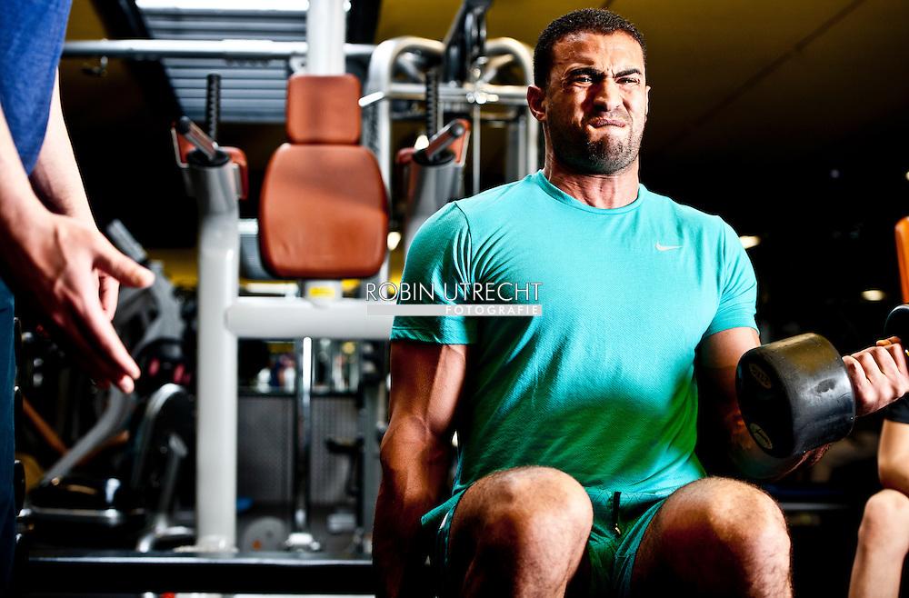 AMSTERDAM - Portret van kickboxer Badr Hari . COPYRIGHT ROBIN UTRECHT