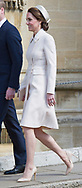 16.04.2017; Windsor,UK: KATE MIDDLETON 1ST ROYAL EASTER SERVICE <br />