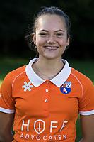 Bloemendaal -   Noor Smit.   Dames I , seizoen hoofdklasse hockey, 2017-2018.  COPYRIGHT KOEN SUYK