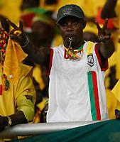 Photo: Steve Bond/Richard Lane Photography.<br />Mali v Benin. Africa Cup of Nations. 21/01/2008. Benin fan