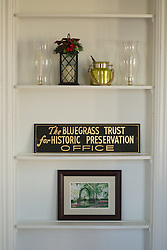 Blue Grass Trust for Historic Preservation recently purchased the Thomas Hunt Morgan house to serve as a rental space and a new headquarters, Friday, Feb. 05, 2016 at Thomas Hunt Morgan House in Lexington.