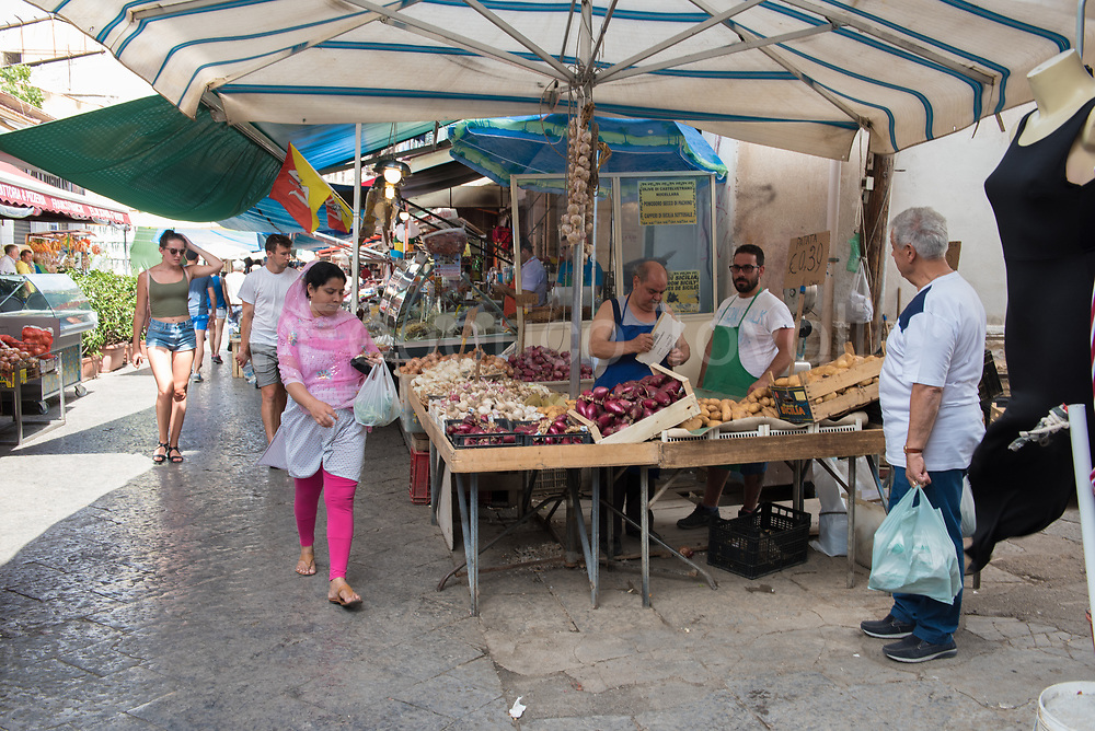 In the Ballarò market