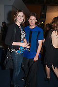 RACHEL CARMICHAEL; CHRISTOPHER KANE;, David Bailey's East End, Compressor House, Dockside Road, Royal Docks, Newham, 4 July 2012.