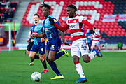 Devante Cole of Doncaster Rovers  during the EFL Sky Bet League 1 match between Doncaster Rovers and Wycombe Wanderers at the Keepmoat Stadium, Doncaster, England on 29 February 2020.