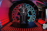 LYON, FRANCE - NOVEMBER 13: A general view of the 'Star Wars Identities' exhibition on November 13, 2014 in Lyon, France. The exhibit runs at the Sucriere from November 9, 2014 until April 19, 2015. (Photo by Bruno Vigneron/Getty Images)
