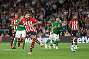 GOAL - 2-0 Southampton striker Danny Ings (9) scores from the penalty spot during the Premier League match between Southampton and Brighton and Hove Albion at the St Mary's Stadium, Southampton, England on 17 September 2018.
