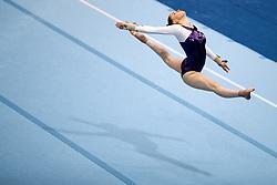Judita Zabukovec of Slovenia at Floor Exercise during Qualifications of Artistic Gymnastics FIG World Challenge Koper 2018, on June 1, 2017 in Arena Bonifika, Koper, Slovenia. Photo by Matic Klansek Velej/ Sportida