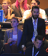 06.SEPTEMBER.2012. CHARLOTTE<br /> <br /> SCARLETT JOHANSSON, JARED LETO, ELIZABETH BANKS, JOHN HAMM PLUS OTHERS ATTEND THE DEMOCRATIC NATIONAL CONVENTION IN CHARLOTTE, NORTH CAROLINA, USA ON SEPTEMBER 6TH, 2012. <br /> <br /> JARED LETO AND SCARLETT JOHANSSON SEEN TOGETHER, HOLDING HANDS AFTER BEING WITH HER BOYFRIEND ( NATE TAYLOR ) 3 DAYS EARLIER IN PARIS. <br /> <br /> JARED AND SCARLETT DATED IN EARLY 2000 AND SPLIT IN 2004 AFTER SCARLETT LEFT HIM. RECENT TEXTING AND FLIRTATIOUS BEHAVIOR HAS LEAD TO TENSION BETWEEN SCARLETT AND NATE.<br /> <br /> BYLINE: EDBIMAGEARCHIVE.CO.UK<br /> <br /> *THIS IMAGE IS STRICTLY FOR UK NEWSPAPERS AND MAGAZINES ONLY*<br /> *FOR WORLD WIDE SALES AND WEB USE PLEASE CONTACT EDBIMAGEARCHIVE - 0208 954 5968*