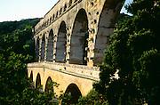 France, Pont du Gard, Nimes, Gard River
