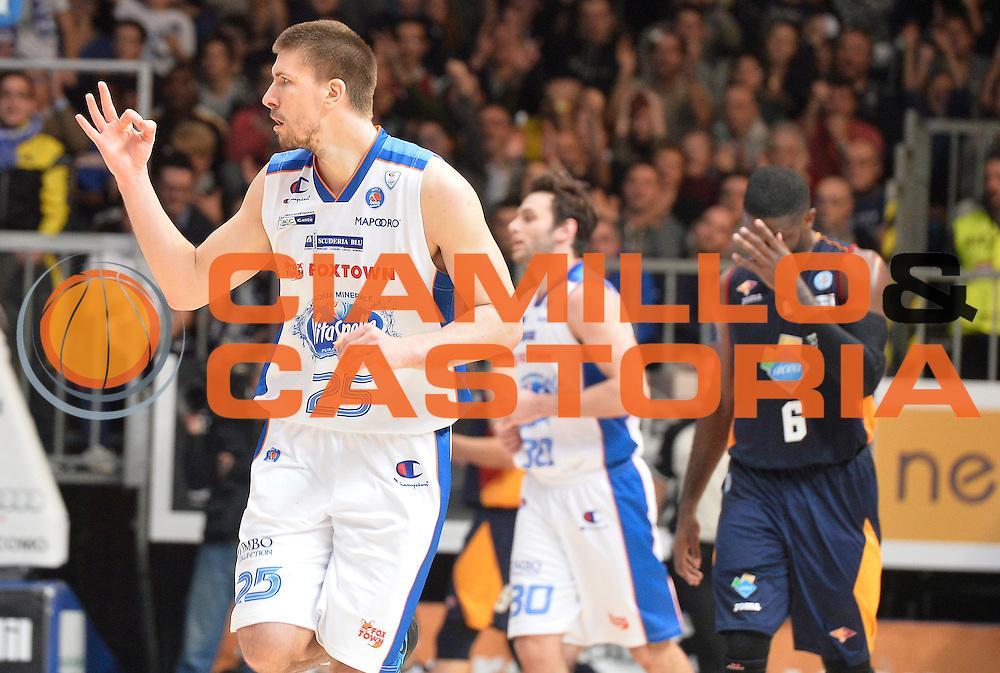 DESCRIZIONE : Cantu' Lega A 2014-2015 Acqua Vitasnella Cantu' Acea Virtus Roma<br /> GIOCATORE : Ivan Buva<br /> CATEGORIA : esultanza<br /> SQUADRA : Acqua Vitasnella Cantu'<br /> EVENTO : Campionato Lega A 2014-2015<br /> GARA : Acqua Vitasnella Cantu' Acea Virtus Roma<br /> DATA : 11/01/2015<br /> SPORT : Pallacanestro<br /> AUTORE : Agenzia Ciamillo-Castoria/R.Morgano<br /> GALLERIA : Lega Basket A 2014-2015<br /> FOTONOTIZIA : Cantu' Lega A 2014-2015 Acqua Vitasnella Cantu' Acea Virtus Roma<br /> PREDEFINITA :