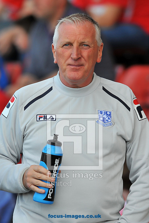 Picture by Ste Jones/Focus Images Ltd +44 7706 592282.08/09/2012.Tranmere Rovers Manager, Ronnie Moore during the npower League 1 match at Alexandra Stadium, Crewe.