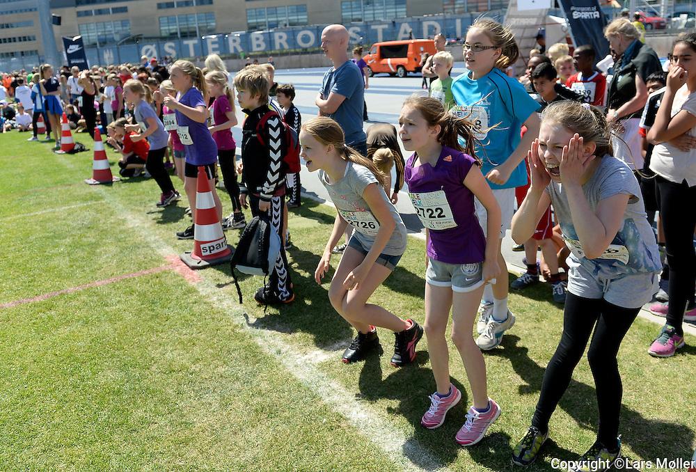 DK Caption:<br /> 20140617, K&oslash;benhavn, Danmark:<br /> Skole OL finale 2014: <br /> Foto: Lars M&oslash;ller<br /> UK Caption:<br /> 20140617, Copenhagen, Denmark:<br /> School Olympics 2014: <br /> Photo: Lars Moeller