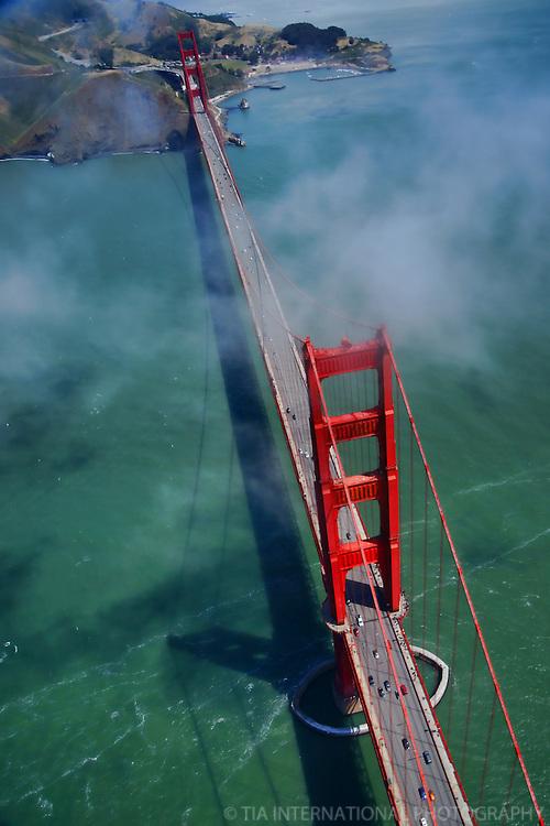The Golden Gate Bridge & Fort Baker, San Francisco