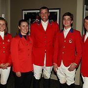 2007 Pan Am Silver Medal Team at the 2007 Royal Agricultural Winter Fair in Toronto, Ontario.