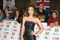 Myleene Klass, Pride of Britain Awards, Grosvenor House Hotel, London UK. 28 September, Photo by Richard Goldschmidt /LNP © London News Pictures