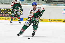 20.02.2015, Curt-Frenzel-Stadion, Augsburg, GER, DEL, Augsburger Panther vs EHC Red Bull München, 49. Runde, im Bild Greg Moore #26 (Augsburger Panther) // during Germans DEL Icehockey League 49th round match between Adler Mannheim and Grizzly Adams Wolfsburg at the Curt-Frenzel-Stadion in Augsburg, Germany on 2015/02/20. EXPA Pictures © 2015, PhotoCredit: EXPA/ Eibner-Pressefoto/ Kolbert<br /> <br /> *****ATTENTION - OUT of GER*****