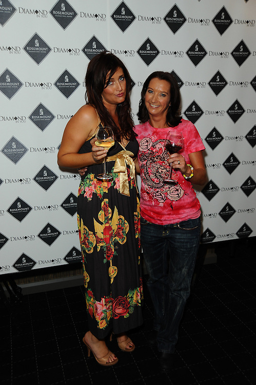 2009 Rosemount Sydney Fashion Festival featuring designs by The Ed Hardy Group, in Sydney, Australia on August 21, 2009. Photos by Kourosh Azar/Elevation (Pictured: Radio personality Bianca Dye, Surfer Layne Beachley)