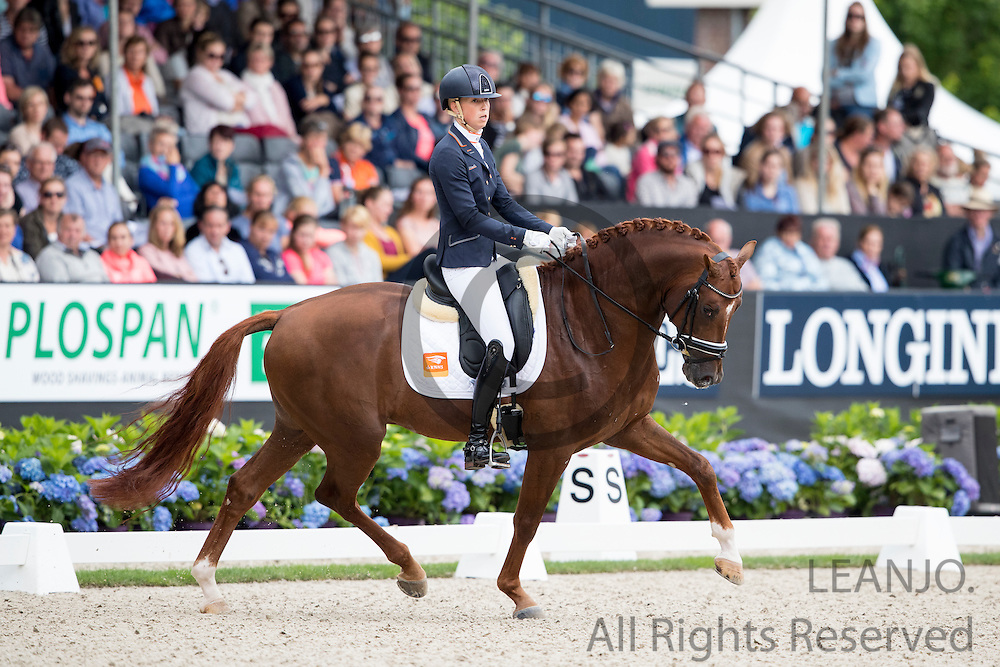 Kirsten Brouwer - Five Star<br /> Longines FEI/WBFSH World Breeding Dressage Championships for Young Horses 2016<br /> &copy; DigiShots