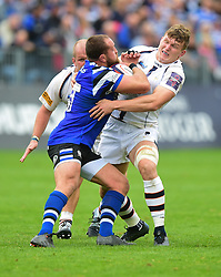 - Mandatory by-line: Alex James/JMP - 28/09/2019 - RUGBY - Recreation Ground - Bath, England - Bath Rugby v Worcester Warriors - Premiership Rugby Cup