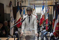 Antoine Grande, ONAC<br /> The last convoy of 11 August 1944', 70th commemoration of the last deportees of the jail of Montluc.