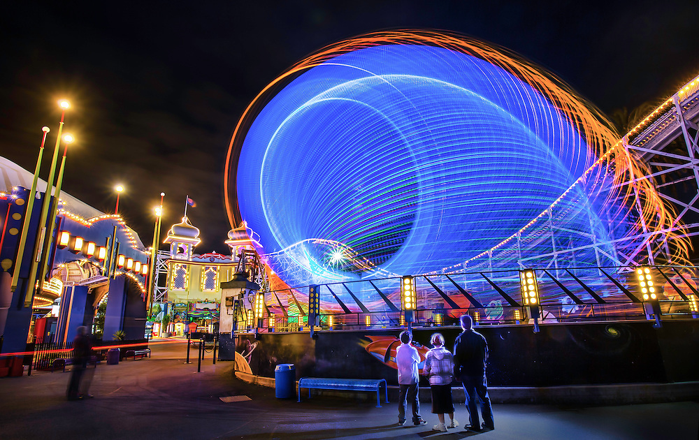 17/11/2012. Luna Park at night, twilight. Luna Park celebrated it's 100th birthday on 13th December 2012..Picture By Craig Sillitoe. This photograph can be used for non commercial uses with attribution. Credit: Craig Sillitoe Photography / http://www.csillitoe.com<br />
