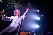 The Polyphonic Spree, lead by Tim Delaughter, perform a 15th anniversary show for their debut album 'The Beginning Stages Of...' at the Electric Ballroom, Camden on Thursday 3 September 2015.