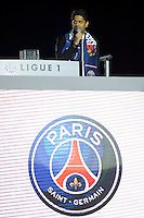Nasser Al Khelaifi - PSG Champion - 23.05.2015 - PSG / Reims - 38eme journee de Ligue 1<br /> Photo : Andre Ferreira / Icon Sport
