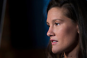 DALLAS, TX - MAY 10:  Cortney Casey speaks to the media during the UFC 211 Ultimate Media Day at the House of Blues Dallas on May 10, 2017 in Dallas, Texas. (Photo by Cooper Neill/Zuffa LLC/Zuffa LLC via Getty Images) *** Local Caption *** Cortney Casey