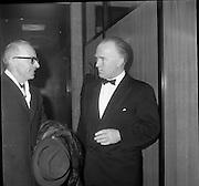 Inauguration of Teilifís Eireann, Montrose.31.12.1961