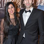 NLD/Amsterdam/20180226 - Premiere De wilde stad, Michael J. Sanderson en Ana Luísa Santos