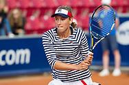 Elise Mertens (Belgium)  at the 2017 WTA Ericsson Open in Båstad, Sweden, July 29, 2017. Photo Credit: Katja Boll/EVENTMEDIA.