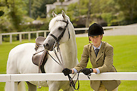 Padraic Flanagan from Loughrea and Cashelbay Prince  at the showgrounds in Clifden at the launch of the 2011 Connemara Pony Festival will run from Sunday 14th August to Sunday 21st August. The festival is built around the world renowned Connemara Pony Show which takes place on Thursday 18th August and Friday 19th August. A number of new events have been added to the schedule of events for 2011. These include a historic bus tour, a best dressed lady competition and the Clifden High Performance Class. Photo:Andrew Downes. Photo issued with compliments, no reproduction fee.