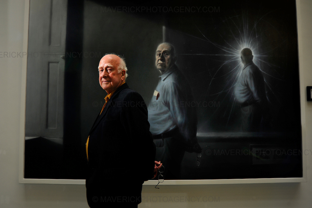 An evocative painting of the physicist Peter Higgs by leading artist Ken Currie has gone on display at the University of Edinburgh.  The Professors theory has dominated theoretical physics for 40 years and soon experiments at the giant CERN particle accelerator in Geneva may verify the existence of the Higgs boson particle and verify Professor Higgs' theory of how elementary particles have mass.  It is widely accepted that confirmation of existence of the Higgs boson is likely to lead to Professor Higgs being awarded a Nobel Prize for physics.  The portrait is being displayed in the University's recently-opened Informatics Forum..