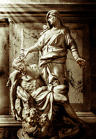 """Pieta - Church of Saint Moses Venice - BW""… <br />