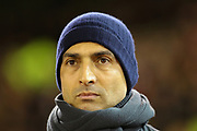Nottingham Forest Head Coach Sabri Lamouchi during the EFL Sky Bet Championship match between Nottingham Forest and Charlton Athletic at the City Ground, Nottingham, England on 11 February 2020.