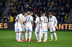 January 30, 2019 - Nantes, France - Equipe de Saint Etienne (Credit Image: © Panoramic via ZUMA Press)