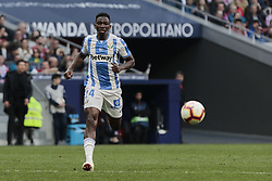 March 9, 2019 - Madrid, Madrid, Spain - CD Leganes's Kenneth Josiah Omeruo during La Liga match between Atletico de Madrid and CD Leganes at Wanda Metropolitano stadium in Madrid. (Credit Image: © Legan P. Mace/SOPA Images via ZUMA Wire)