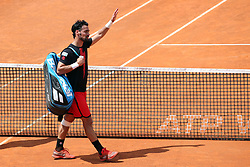 May 18, 2018 - Rome, Rome, Italy - 18th May 2018, Foro Italico, Rome, Italy; Italian Open Tennis; Fabio Fognini (ITA) in leaves the centra court after lost a quarter-final match against Rafael Nadal (ESP) 4-6, 6-1, 6-2. Credit: Giampiero Sposito/Pacific Press  (Credit Image: © Giampiero Sposito/Pacific Press via ZUMA Wire)