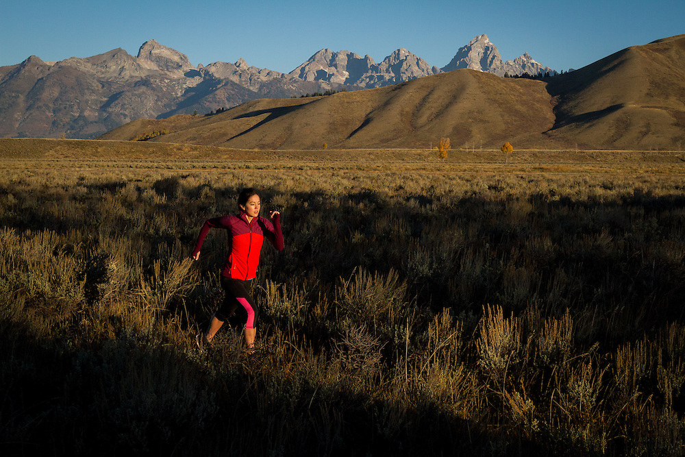 Trail running<br />