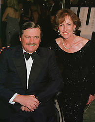 The HON.MARK & MRS VESTEY  at a ball in London on 2nd March 1999.MOY 18