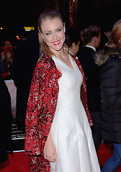 Camilla Kerslake attends White Christmas Press Night at The Dominion Theatre, Tottenham Court Road, London on Wednesday 12 November 2014