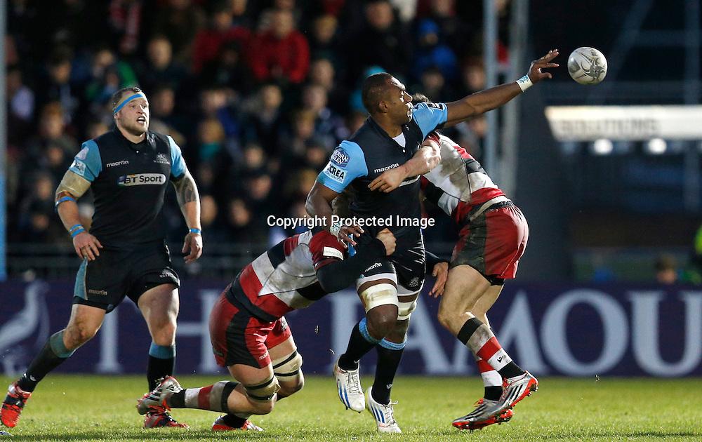 Guinness PRO12, Scotstoun Stadium, Scotland 27/12/2014<br /> Glasgow Warriors vs Edinburgh<br /> Warriors' Leone Nakarawa<br /> Mandatory Credit &copy;INPHO/Russell Cheyne