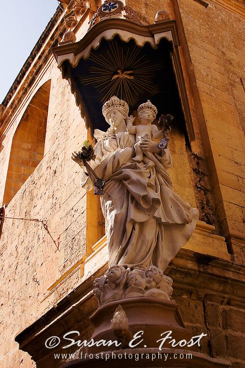 Madonna and child, Malta
