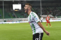 BILDET INNGÅR IKEK I FASTAVTALER. ALL NEDLASTING BLIR FAKTURERT.<br /> <br /> Fotball<br /> Tyskland<br /> Foto: imago/Digitalsport<br /> NORWAY ONLY<br /> <br /> 23.09.2016 - Fussball - Saison 2016 2017 - 2. Fussball - Bundesliga - 07. Spieltag: SpVgg Greuther Fürth Fuerth - SV Sandhausen - / - Torjubel Jubel Freude nach Treffer Tor Torschuß zum 1:0 durch Sebastian Freis (9, SpVgg Greuther Fürth ) - Zlatko Tripic (17, SpVgg Greuther Fürth )